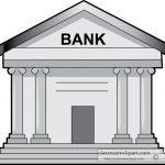 Bank Gray Clipart